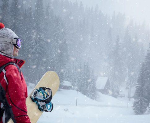 Soczewki kontaktowe, a sporty zimowe