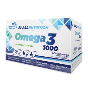 Allnutrition omega 3 1000 mg 60 kapsułek